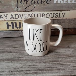Rae Dunn Like A Boss Mug Coffee Tea Cocoa